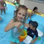 7月プール遊び